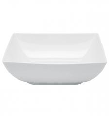 Тарелка суповая квадратная Carre White, 790мл