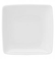 Тарелка закусочная квадратная Carre White, 16х16см