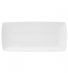Блюдо прямоугольное для багета Carre White, 32х15см