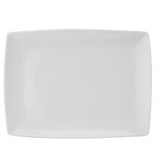 Блюдо прямоугольное среднее Carre White, 31х13см