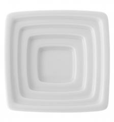 Блюдо квадратное для оливкового масла Carre White