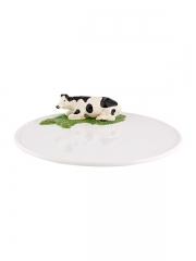 """Блюдо для сыра """"Корова"""", 30 см"""