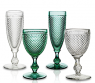 Набор зеленых бокалов для шампанского, Bicos