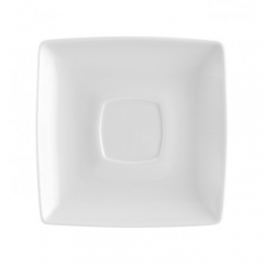 Блюдце под чайную чашку Carre White, 14х14см