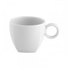 Чашка кофейная Carre White, 80мл