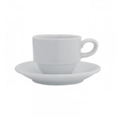 Набор чашка чайная с блюдцем Spirit, 230мл