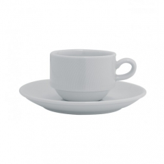 Набор чашка кофейная с блюдцем Spirit, 140мл