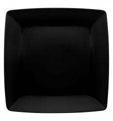 Тарелка суповая квадратная Carre Black, 790мл