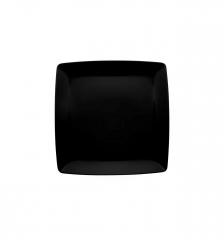 Тарелка столовая квадратная Carre Black