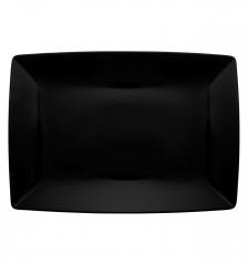 Блюдо прямоугольное Carre Black, 28х20см