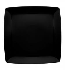 Тарелка сервировочная квадратная Carre Black