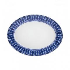 Блюдо овальное Azure, 38х29см