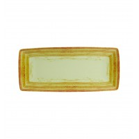 Блюдо прямоугольное для багету MANDARIN,32см, зеленое