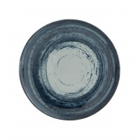 Тарелка круглая десертная серая MANDARIN, 22 см