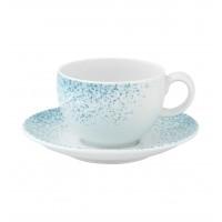 Чашка чайная SPRINKLE, 220мл (с блюдцем)