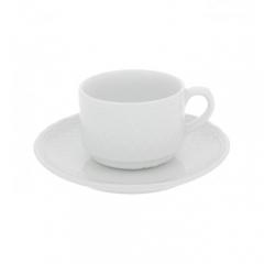 Набор чашка чайная с блюдцем Escorial, 270мл