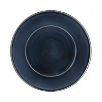 Тарелка столовая TERRA SAFIRA, 29см, темно-синяя