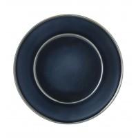 Тарелка десертная TERRA SAFIRA, 23см, темно-синяя