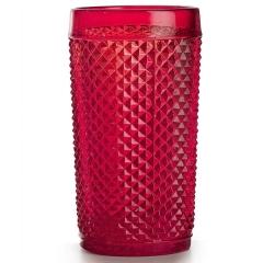 Набор стаканов высоких красных, Bicos