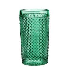 Набор стаканов высоких зеленых, Bicos