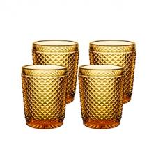 Набор стаканов низких янтарных, Bicos