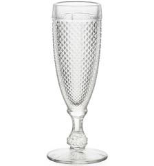 Набор прозрачных бокалов для шампанского, Bicos