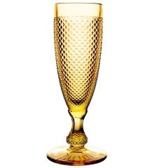Набор янтарных бокалов для шампанского, Bicos