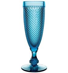 Набор бирюзовых бокалов для шампанского, Bicos