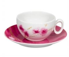Чашка чайная с блюдцем ARIGATO, 240мл