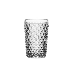 Набор прозрачных стаканов Dots, 460мл