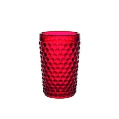 Набор красных стаканов Dots, 460мл
