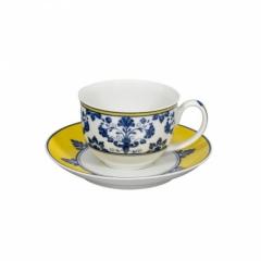 Чашка чайная с блюдцем CASTELO BRANCO, 274мл