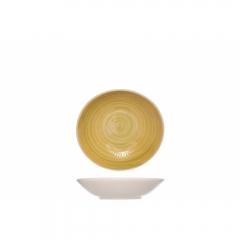 Тарелка суповая 21 см желтая, Turbolino