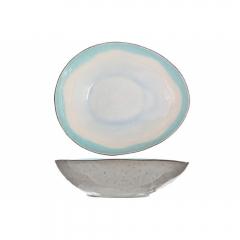 Тарелка суповая овальная  19,5х16,5 см, Malibu