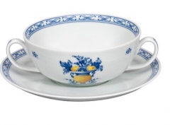 Чашка суповая с блюдцем VIANA, 340мл