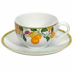 Чашка чайная с блюдцем  большая ALGARVE, 390мл